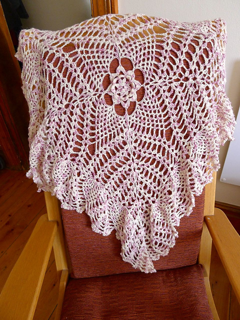 Heirloom Baby Blanket Crochet Pattern