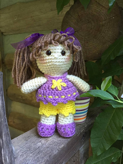 ENG | PT] Maria, the square doll pattern is back to my shop! Yay ... | 640x480