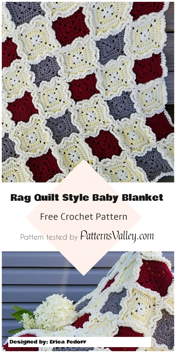 how to make rag quilt blanket