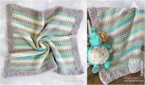 Crochet Cloud 9 Baby Blanket Pattern
