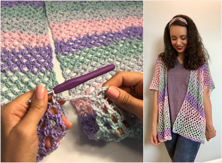 Kimonos Free Crochet Knit Ideas Patterns Valley