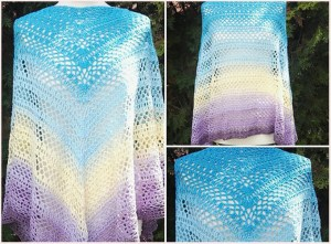 [Free Crochet Pattern] Cute Magic Poncho