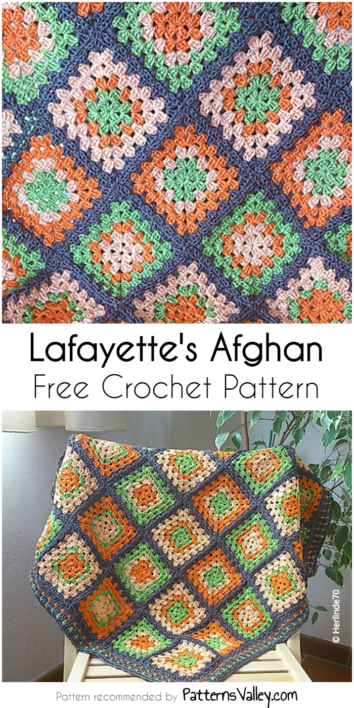 Crocheted Afghan Patterns