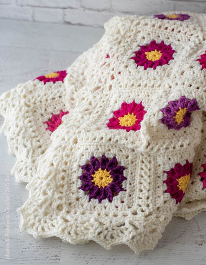 My Mothers Garden Afghan