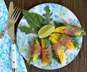 Summer recipe by Haylie Duff: Mango lime wraps