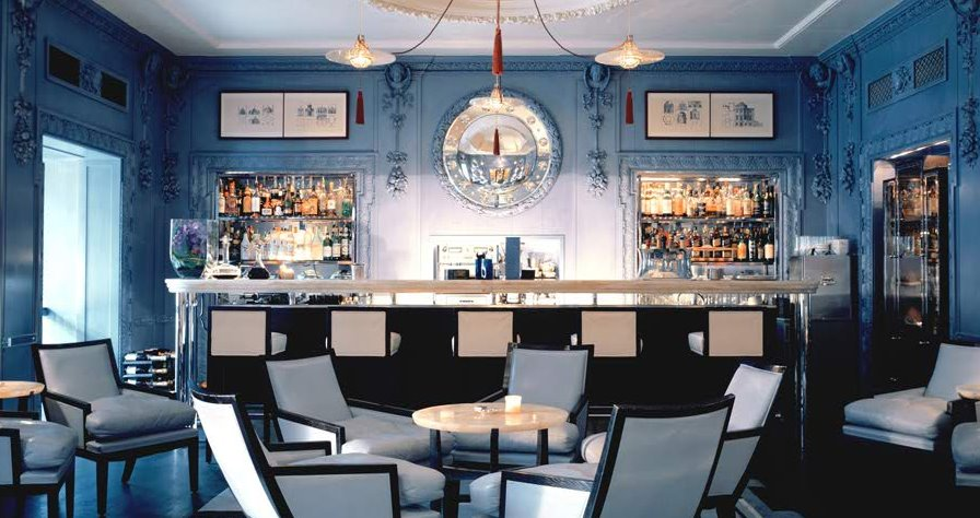 The Blue Bar in the Berkeley Hotel