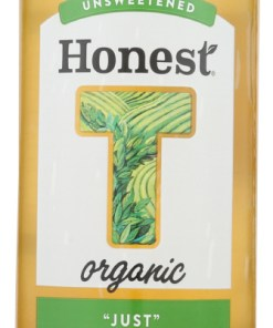 "(12 Pack) Honest Tea ""Just"" Green Tea Unsweetened, 16 Fl Ozbottle"