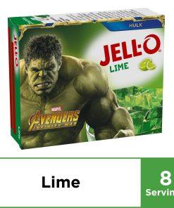 (3 Pack) Jell-O Lime Gelatin Mix, 6 oz Box