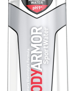 BODYARMOR SportWater Alkaline Water, Superior Hydration, High Alkaline Water pH 9+, Electrolytes, Perfect for your Active Lifestyle, 1L, 12 ct