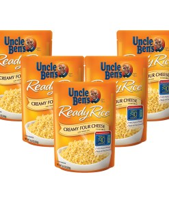 (5 Pack) UNCLE BEN'S Ready Rice: Creamy Four Cheese, 8.5oz