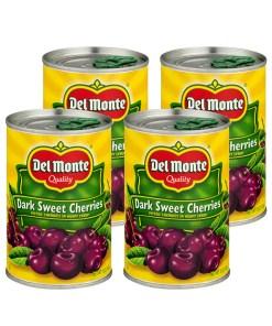 (4 Pack) Del Monte Quality Dark Sweet Cherries, 15 oz