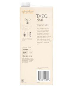 (3 Pack) Tazo Organic Chai Latte Black Tea Concentrate, 32 Fl Oz