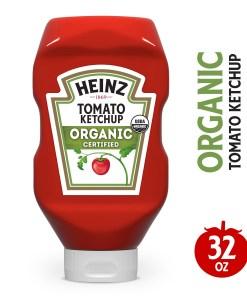 Heinz Organic Certified Tomato Ketchup, 32 oz Bottle