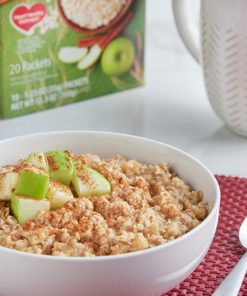 Great Value Instant Oatmeal, Apples & Cinnamon Value Pack, 20 Packets