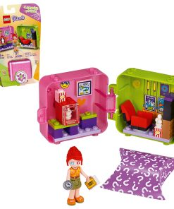 LEGO Friends Mia's Shopping Play Cube 41408 Building Kit; Includes a Collectible Mini-Doll; Top Gift for Creative Fun (37 Pieces)