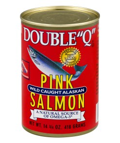 """(2 Pack) Double """"Q"""" Wild Caught Alaskan Pink Salmon, 14.75 oz Can"""