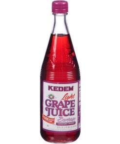 Kedem Juice, Lite Grape, 22 Fl Oz, 12 Count