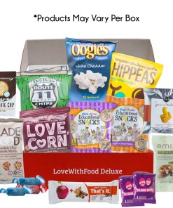 Love With Food All-Natural, Artificial Junk-Free Snacks, Deluxe, 1 Ct