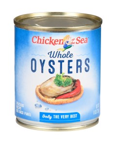 (2 Pack) Chicken of The Sea Whole Oysters, 8 oz