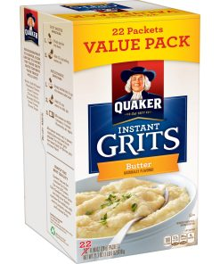 Quaker Instant Grits, Butter, Value Pack, 22 Packets