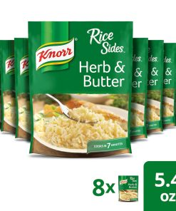 (8 Pack) Knorr Rice Side Dish Herb & Butter 5.4 oz
