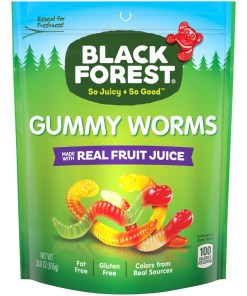Black Forest Gummy Worms Candy, 28.8oz