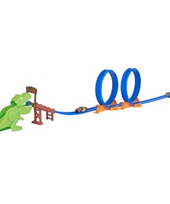 Adventure Force Double Loop Chomp and Crunch 7.9′ Track Set