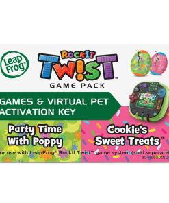 LeapFrog RockIt Twist 2pk: Trolls Party Time With Poppy And Cookie's Sweet Treats