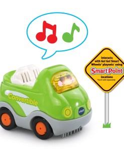 VTech Go! Go! Smart Wheels Deluxe Car Carrier, Toy Car Playset