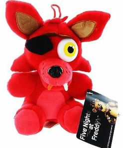 Brand New Five Nights at Freddy's Plush 10″ – Foxy – Officially Licensed FNAF!