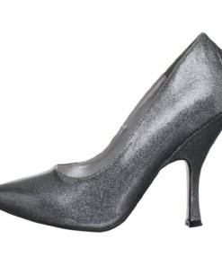 BOMBSHELL-01, 4 1/2″ Curved Heel Classic Pump Shoes
