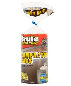 Brute Super Tuff® Compactor Bags, 20 Gallon, 20 Bags (Twist Tie)