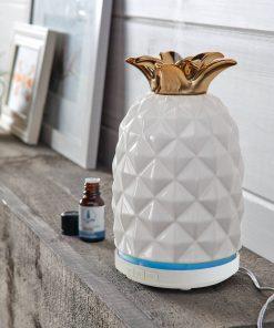 Better Homes & Gardens 100 mL Cool Mist Ultrasonic Aroma Diffuser, Pineapple