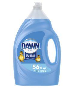 Dawn Ultra Liquid Dish Soap Original Scent, 56 Fl Oz