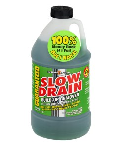 Instant Power Slow Drain Build-Up Remover, 67.6 fl oz