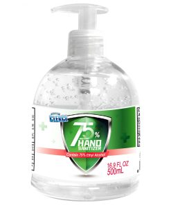 Cleace Advanced 75% Alcohol Hand Sanitizer Gel, 3 large bottles, 16.9 oz each (50.7 oz total)