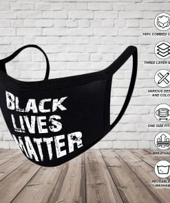 BLM Mask Black Lives Matter Face Mask Washable Face Mask Reusable Face Mask Washable Cloth Face Masks 100% Cotton Face Mask Breathable Mouth and Nose Mask Face Cover