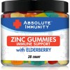 Absolute Immunity- ZINC and Elderberry Gummies – Boost Immune System Health – Adults and Kids 30ct