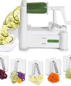 5-Blade Vegetable Slicer (Free 4 Recipe Ebooks)