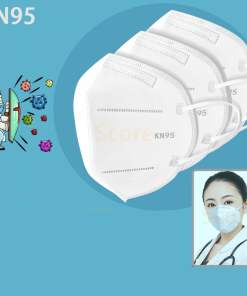 Breathable KN95 FFP2 Face Masks (Covid-19 Ready)