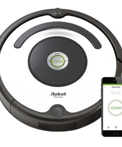 WiFi-Enabled Robot Vacuum With 3-Stage Cleaning System