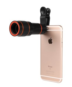 Mobile phone general 8 times lens high-definition photography long focal long lens travel photo focusing 8x lens direct selling
