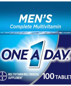 One A Day Men's Multivitamin Tablets, Multivitamins for Men, 100 Count