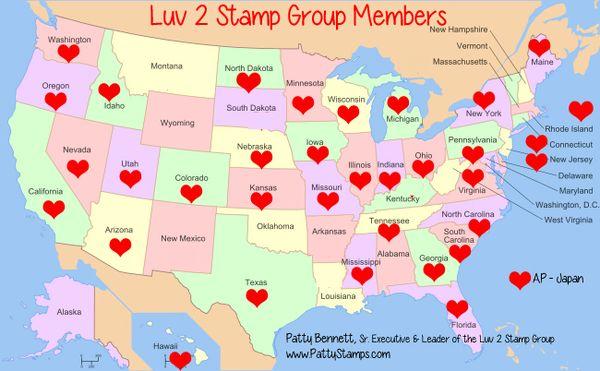 Luv-2-stamp-group-US-members-map