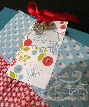 1 make and take gift tag