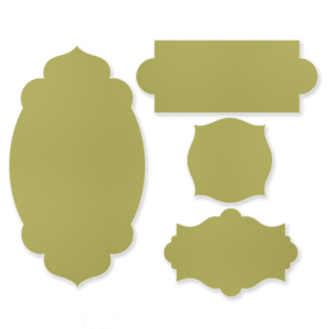127003 apothecary accents framelits