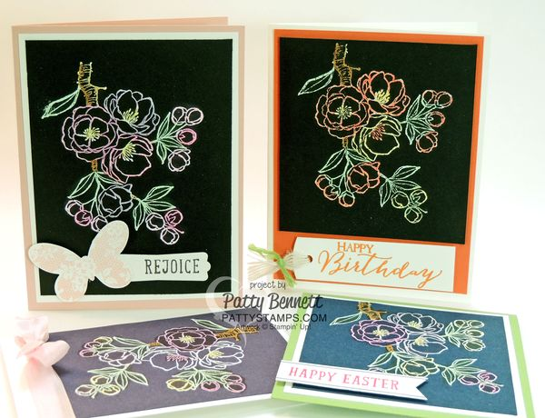 Indescribable-gift-blendabilities-cards-black-stampin-up-pattystamps