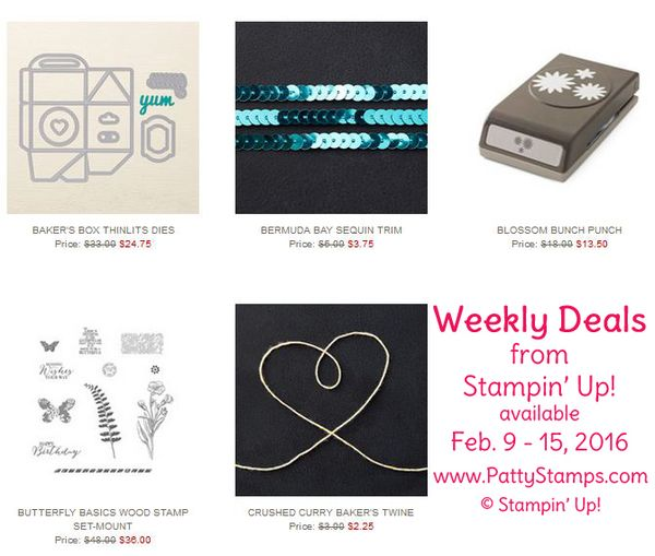 Weekly deals feb 9 pattystamps