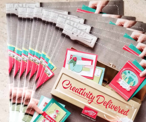 Stampin' Up! 2017 Holiday catalog starts Sept. 1, 2017!  Ask Patty Bennett for a FREE copy!