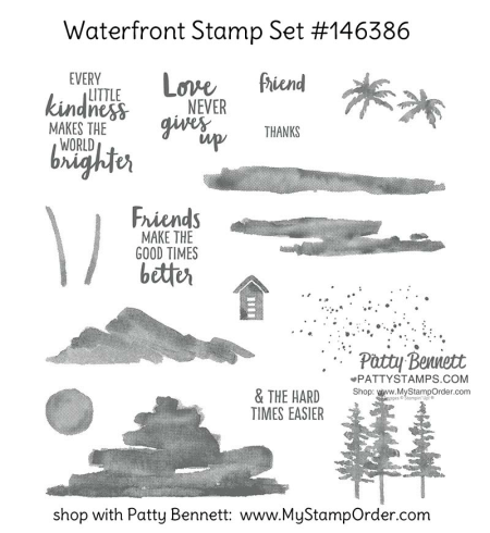 146386 waterfront stamp set by Stampin' UP! available in my online store, order #146386 at www.MyStampOrder.com